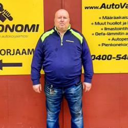 Autonomi-yrittäjä Jyrki Vanhala
